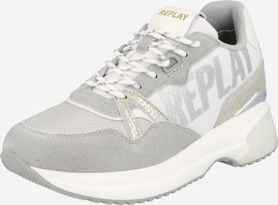 Sneaker low 'OVERLAND' REPLAY pe gri / argintiu, Vizualizare produs