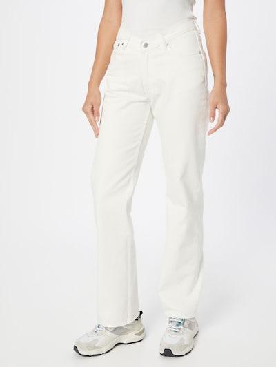WEEKDAY Jeans in weiß, Modelansicht