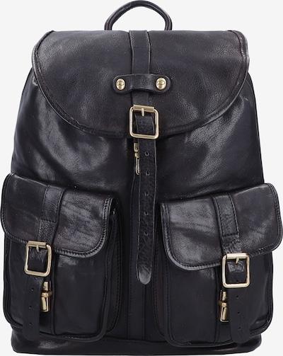 Campomaggi Rucksack in schwarz, Produktansicht