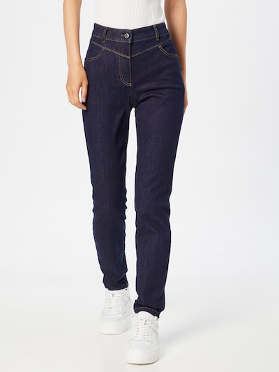 GERRY WEBER Jeans in dunkelblau, Modelansicht