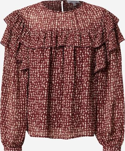 EDITED Bluse 'Tatiana' in mischfarben / rot, Produktansicht
