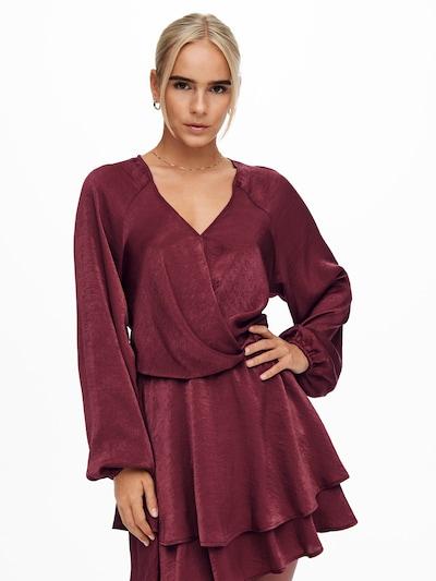 ONLY Kokteilové šaty 'Carrie' - tmavočervená, Model/-ka
