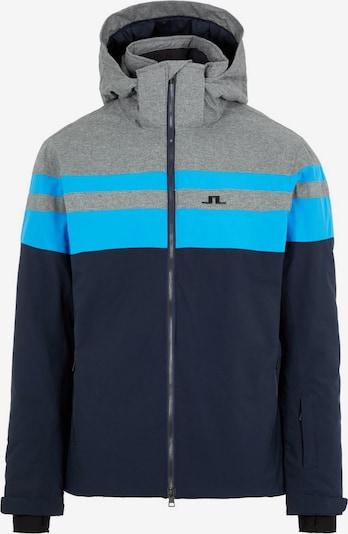 J.Lindeberg Skijacke in blau / grau / schwarz, Produktansicht