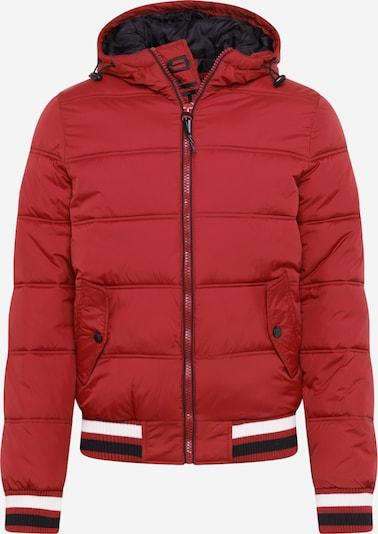 INDICODE JEANS Přechodná bunda 'Trejo' - noční modrá / červená / černá / offwhite, Produkt