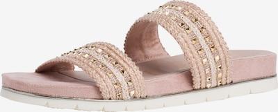 TAMARIS Pantolette in gold / rosé / puder, Produktansicht