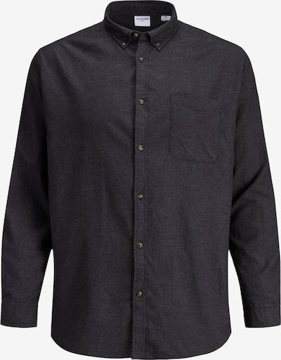 Jack & Jones Plus Hemd in graphit, Produktansicht