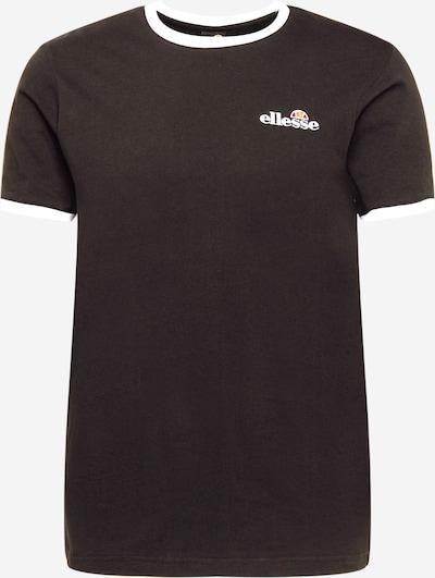 ELLESSE T-Shirt 'Meduno' in orange / rot / schwarz / weiß, Produktansicht