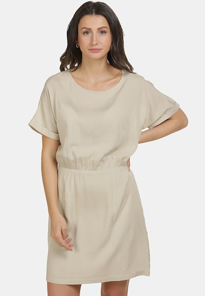 usha BLUE LABEL Kleid in hellbeige, Modelansicht