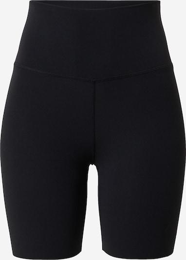 NIKE Pantalon de sport 'Luxe' en noir, Vue avec produit