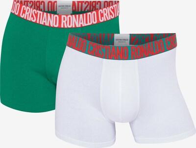 CR7 - Cristiano Ronaldo Retroshorts ' FASHION Black Friday ' in grasgrün / mischfarben / weiß, Produktansicht