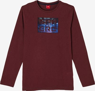 s.Oliver Shirt in bordeaux, Produktansicht