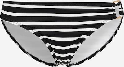 Lauren Ralph Lauren Bas de bikini en noir / blanc, Vue avec produit