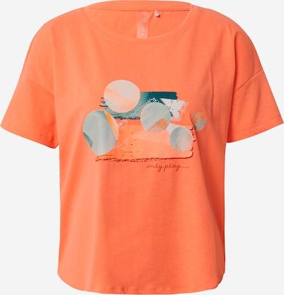 ONLY PLAY T-Shirt 'Felipa' in mischfarben / orange, Produktansicht