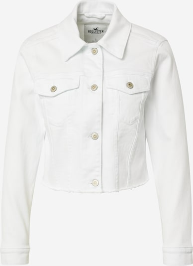 HOLLISTER Overgangsjakke i hvid, Produktvisning