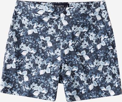 Abercrombie & Fitch Shorts de bain en bleu / bleu cobalt / blanc, Vue avec produit