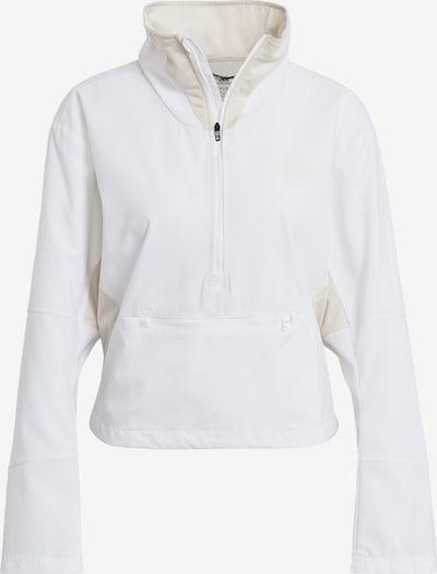 ADIDAS PERFORMANCE Jacke in beige / weiß, Produktansicht