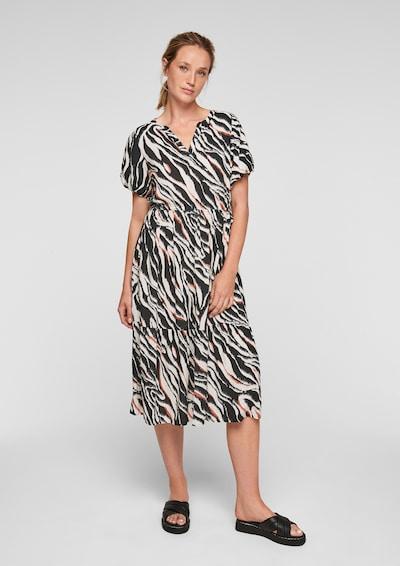 Rochie tip bluză s.Oliver pe ecru / corai / negru, Vizualizare model