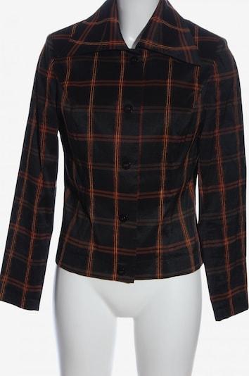 Murek Fashion Blusenjacke in L in hellorange / schwarz, Produktansicht