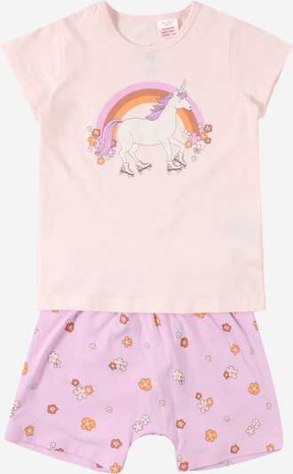 Pijamale 'Harpa' Cotton On pe mov pastel / mai multe culori / portocaliu / roz deschis / alb, Vizualizare produs
