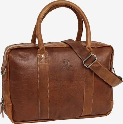 Gusti Leder Messenger Bag 'Gusti Leder Fynn' in braun, Produktansicht