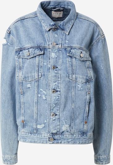 GUESS Starpsezonu jaka 'KLAUDIA', krāsa - zils džinss, Preces skats