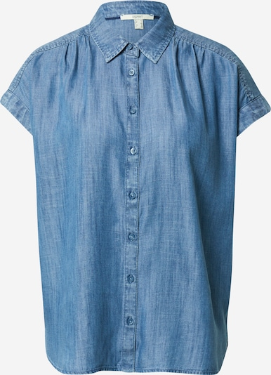 ESPRIT Bluzka w kolorze niebieski denimm, Podgląd produktu