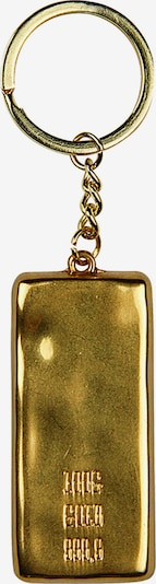 KLONDIKE 1896 Schlüsselanhänger Knox mit praktischem Aufbewahrungsbeutel in gold, Produktansicht