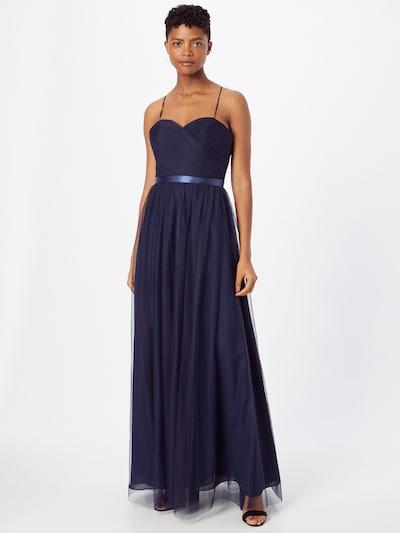 mascara Evening Dress in Navy, View model