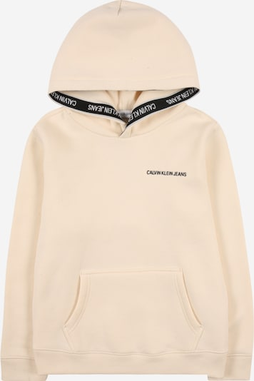 Calvin Klein Jeans Sweatshirt in cream / black, Item view