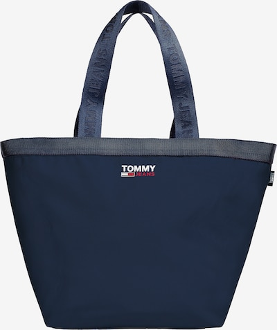 Tommy Jeans Shopper in Navy / Fire red / White, Item view