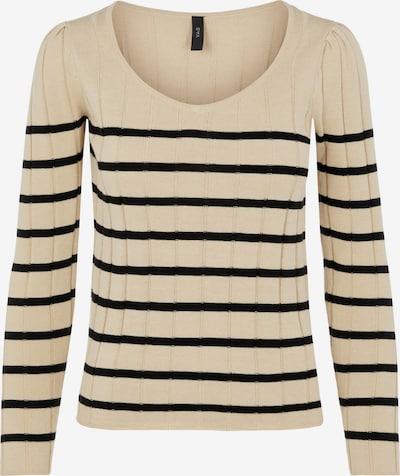 Y.A.S Sweater 'Kaya' in Kitt / Black, Item view