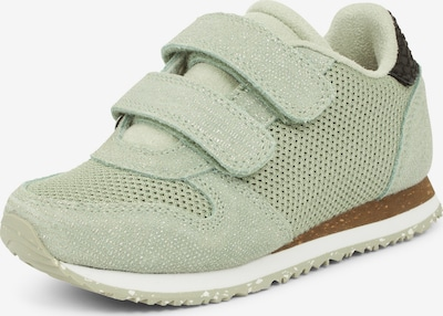 WODEN Kids Sneaker 'Sandra Pearl II' in pastellgrün / schwarz, Produktansicht