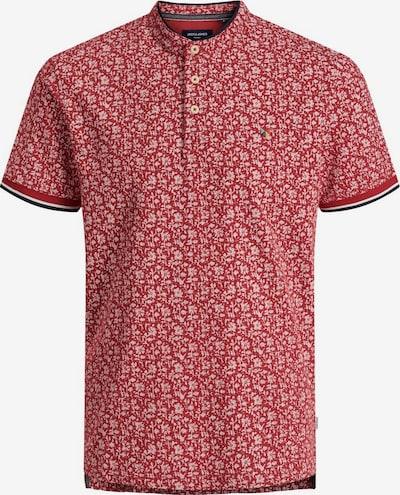 JACK & JONES Poloshirt in blau / rot / weiß, Produktansicht