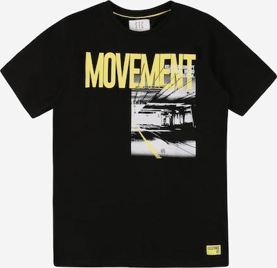 STACCATO T-Shirt en citron vert / gris clair / noir / blanc, Vue avec produit