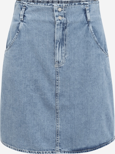 Noisy May Tall Rok 'ASHLEY' in de kleur Blauw denim, Productweergave