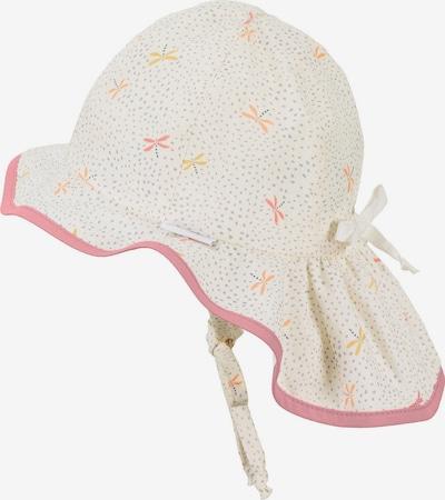 STERNTALER Hut in goldgelb / koralle / lachs / rosa / weiß, Produktansicht