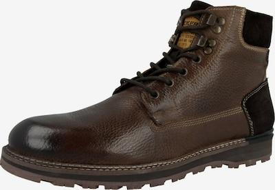 Dockers by Gerli Boots ' 49KS002 ' en brun foncé / noir, Vue avec produit