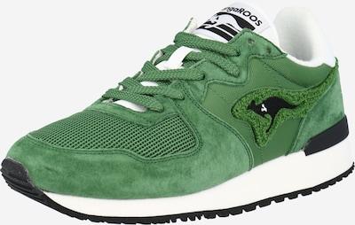 zöld / fehér KangaROOS Rövid szárú edzőcipők 'Aussie Prep 2.0', Termék nézet