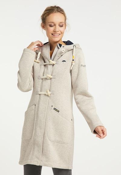 Demisezoninis paltas iš Schmuddelwedda , spalva - glaisto spalva / marga smėlio spalva / tamsiai mėlyna, Modelio vaizdas