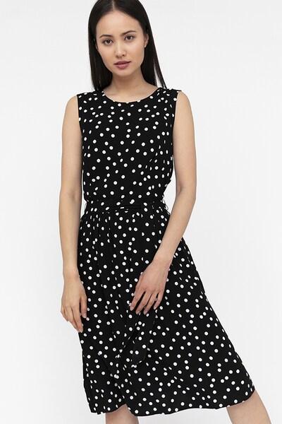 Finn Flare Sommerkleid in schwarz / weiß, Modelansicht
