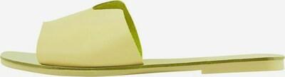 PIECES Sandalen in gelb, Produktansicht