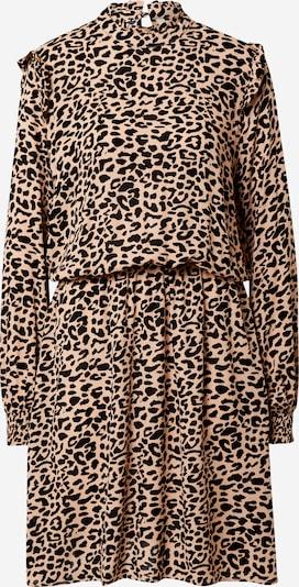 b.young Sukienka koszulowa 'Jula' w kolorze piaskowy / czarnym, Podgląd produktu