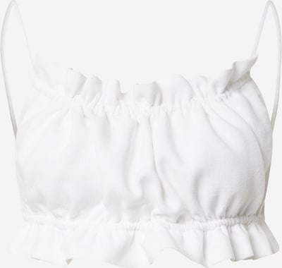 Bardot Top 'BARELY THERE' in White, Item view