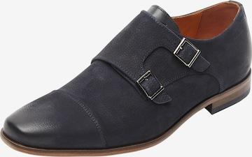 Chaussure à lacets ' Rodos ' Van Lier en bleu