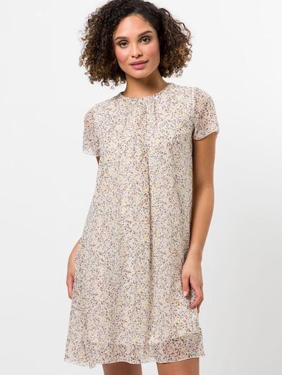 zero Kleid in braun / gelb / dunkelgrün / naturweiß, Modelansicht