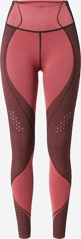 4F Športové nohavice - ružová