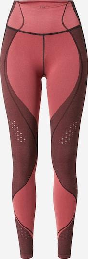 4F Pantalon de sport en rosé / bourgogne / noir, Vue avec produit