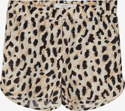 NAME IT Pantalon 'Vinaya' en beige / gris / noir, Vue avec produit