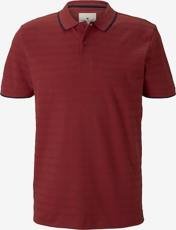 TOM TAILOR Shirt in Red