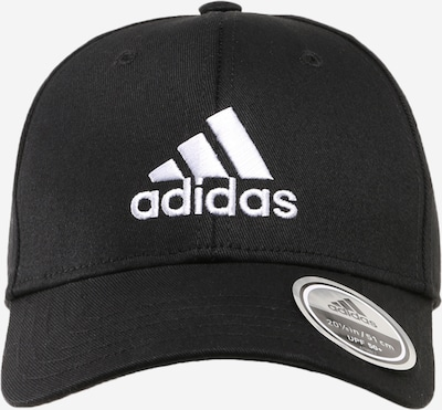 ADIDAS PERFORMANCE Sportkeps i svart / vit, Produktvy